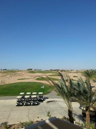 Steigenberger Makadi Hotel: View of golf course
