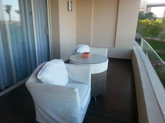 Steigenberger Makadi Hotel: The balcony