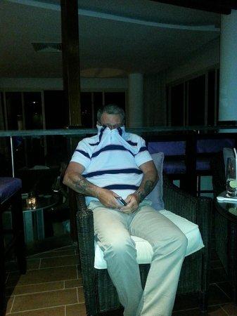 Steigenberger Makadi Hotel: Some crazy guy we met