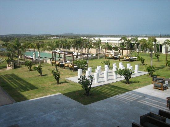 Sofitel Essaouira Mogador Golf & Spa : Vue du balcon sur jardins