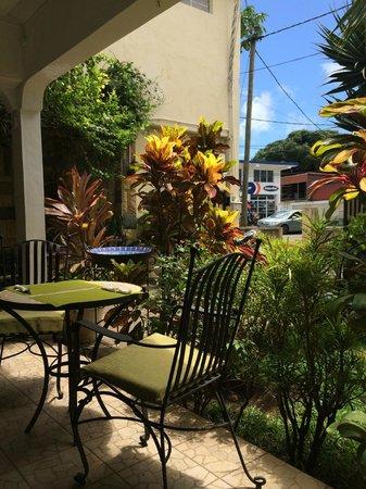 Cafe Muller : Garten