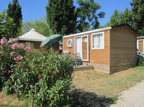 Camping Lou Pantai : Lodge classic camping Lou Pantaï