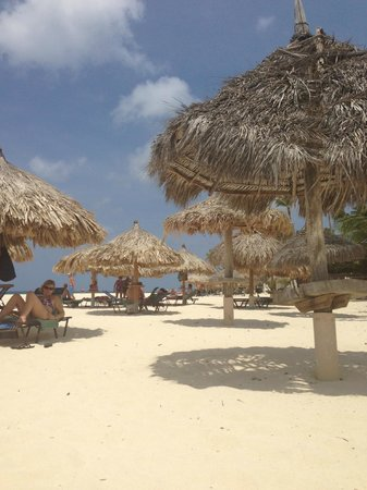 Divi Aruba All Inclusive: View from my spot on the beach