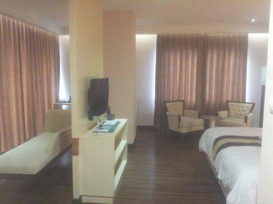 Hotel California Bandung: View from room entrance