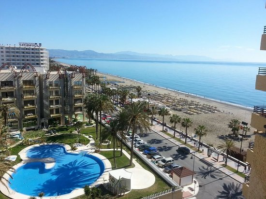 Melia Costa del Sol : Our view from the balcony :)