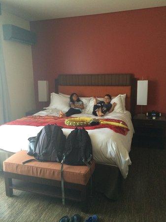 Sirtaj Hotel : Comfy Bed