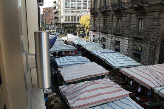 Hotel Catania Town : Veduta dal 1° piano