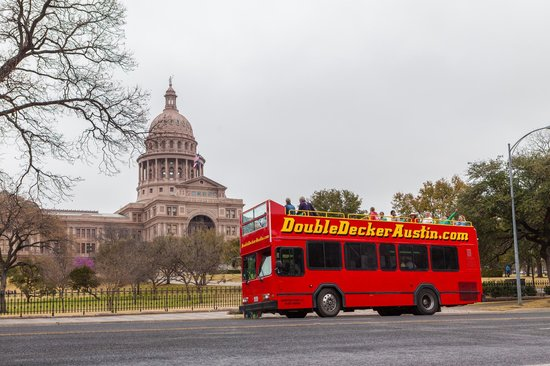 ‪Double Decker Austin Tours‬