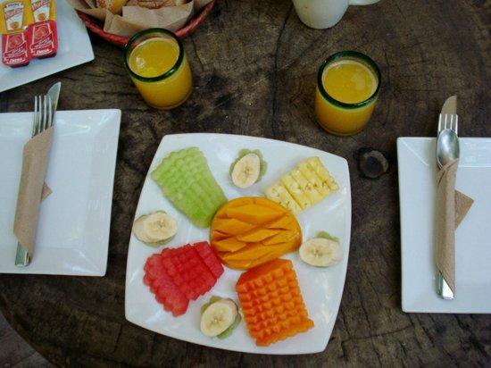 Suenos Tulum : Morning Breakfast