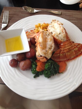 Rawley Resort : Lobster dinner