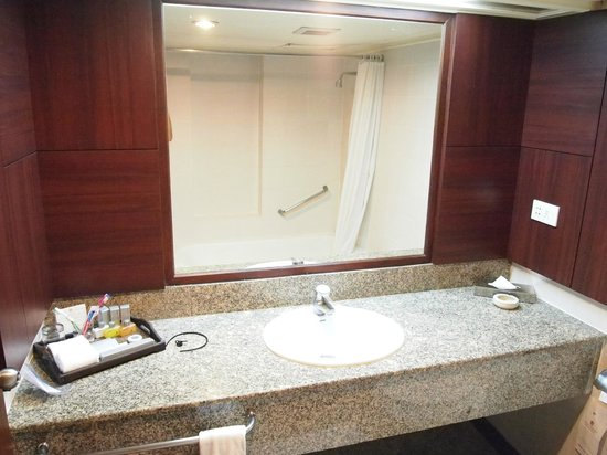 The Twin Towers Hotel: old bathroom