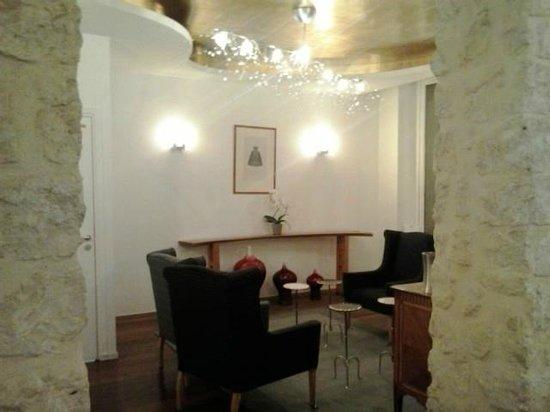 Hotel Lorette - Astotel: sala lettura/ bar pomeridiano