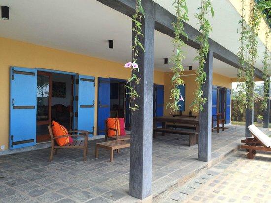 Villa Atulya: プールサイド