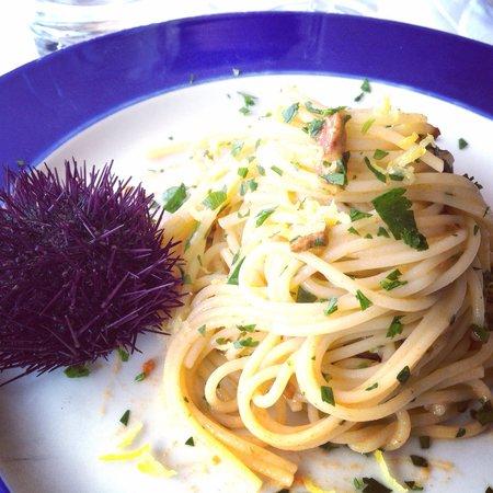 La Strada: Spaghetti ai ricci di mare!