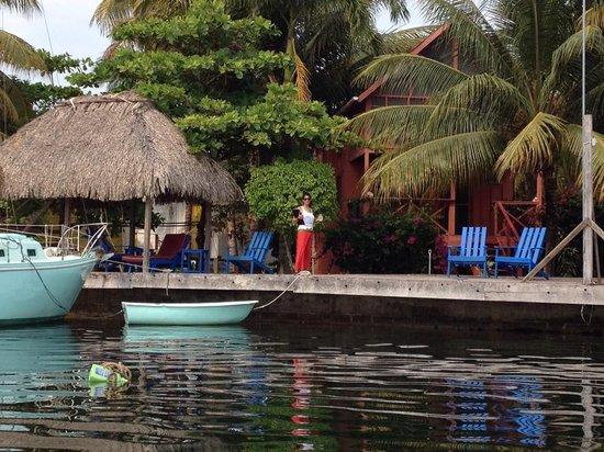 Captain Jak's Cabanas: Captain Jak's Dock