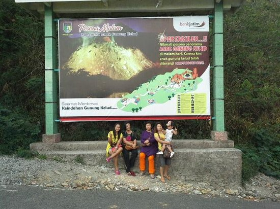 Kelud Volcano Wisata Gunung Kelud Kediri Jawa Timur