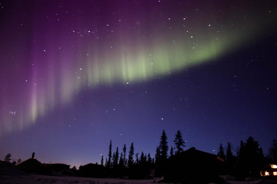 Northern Lights over Camp Alta