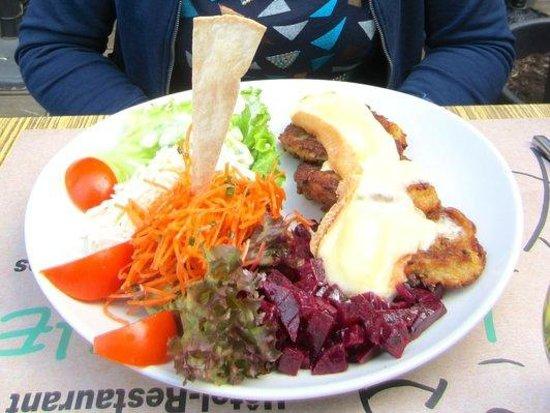 Le Brochet : Galettes de pommes de terre au munster