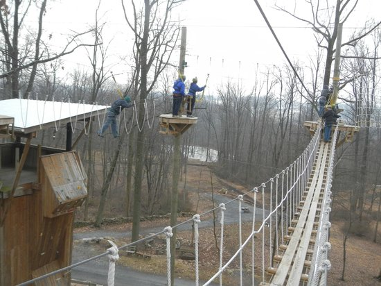 Refreshing Mountain: Ropes course