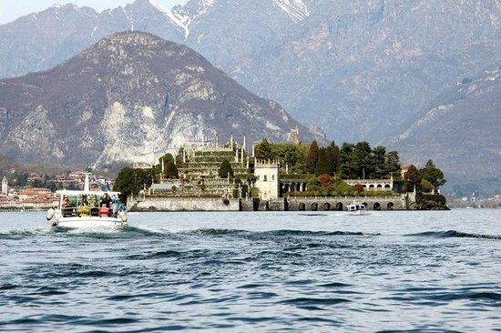 Isola Bella: You can reach the Island by boats from Stresa