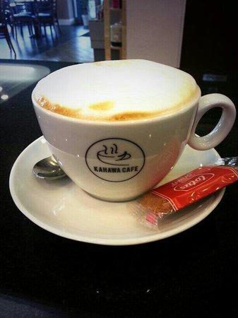 Kahawa Cafe: dry cappuccino