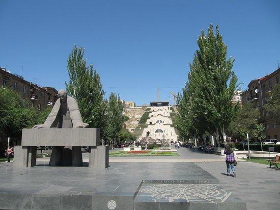 Yerevan Cascade : Kaskaden Eriwan