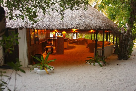 Makunudu Island : Reception, very inviting!