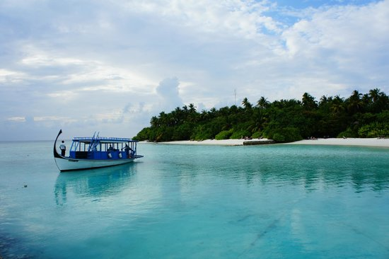 Makunudu Island : Arrival on the first day!