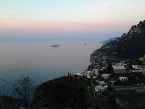 B&B Mamma Rosa Positano : Sunset from our room