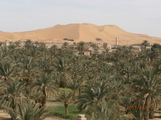 Riad Nezha: la vue de la terrasse