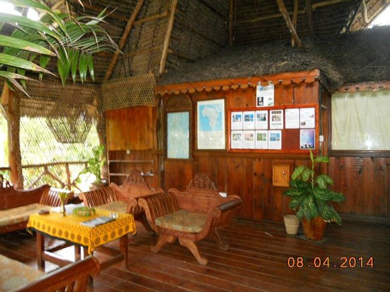 Ras Michamvi Beach Resort: Recepcion