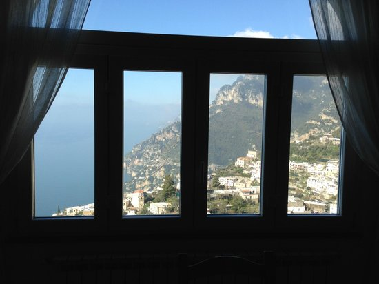 B&B Mamma Rosa Positano : View from the window