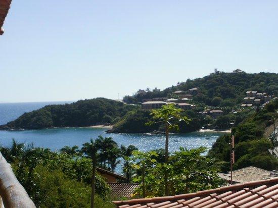 Rio Buzios Beach Hotel : Vista desde el bacón.