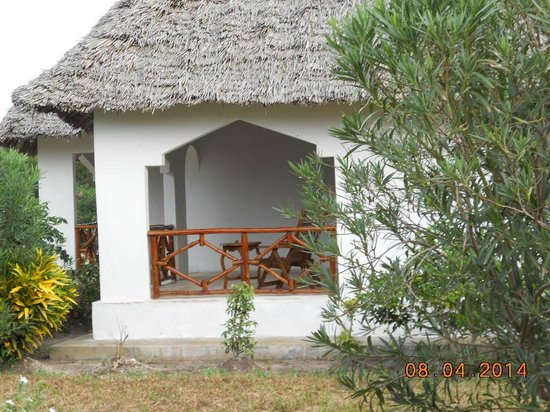 Ras Michamvi Beach Resort : Exterior de Habitacion