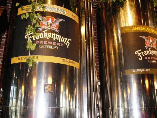 Frankenmuth Brewery: Serving tanks