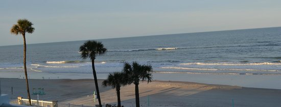 Daytona Beach Resort and Conference Center: This was the view from our room.