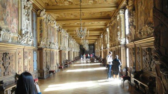 Chateau de Fontainebleau: Una de sus salas