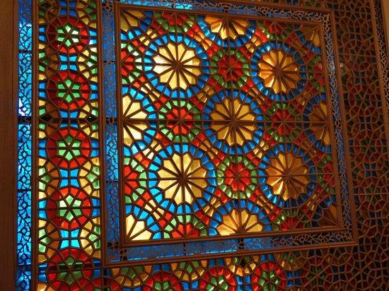 Sheki Khan's Palace : Fenster Sheki Khan Palast