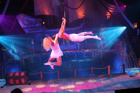 Hippodrome Circus : Aerialists Andy and Jenny