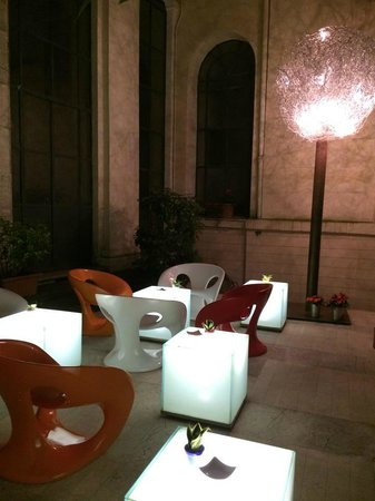 Hotel Art by the Spanish Steps : Courtyard