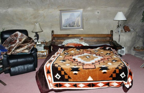 Kokopelli Cave Bed and Breakfast : bed, Kokopelli's Cave