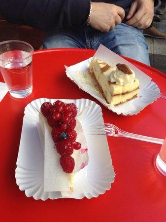 Berko : Cheesecake fruit rouge et caramel