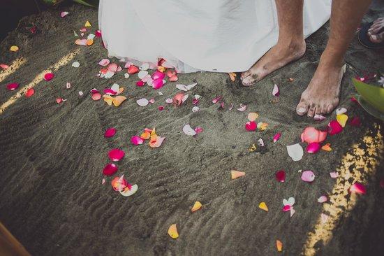 Guacamaya Lodge: Traumhochzeit Barfuß am Strand
