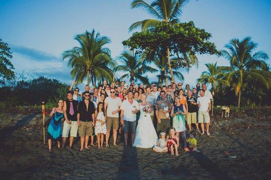 """Guacamaya Lodge: Das Hochzeitsfoto kurz """"danach"""""""