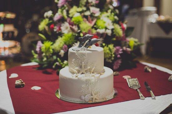 Guacamaya Lodge: Die sensationelle Hochzeitstorte - alles bestens organisiert!