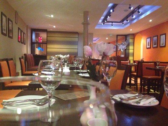 MASALA BITES: Main dining area
