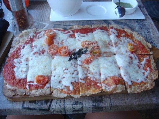 Pan di Bacco: Gluten Free Margherita Pizza