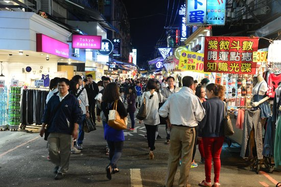 Beauty Hotels Taipei - Starbeauty Resort: nearby shinlin night market offers lots of food choices...