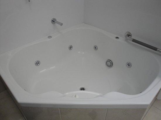 Aoraki Court Aoraki/Mt Cook Village : spa-bath