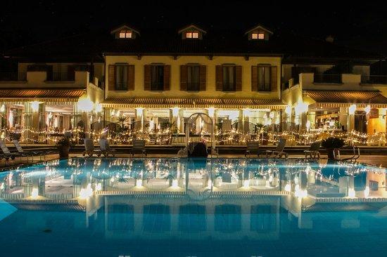 La vista dell 39 hotel dei giardini ristorante ed hotel - Piscina nerviano ...
